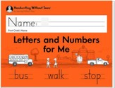 Letters and Numbers for Me Student  Workbook, Grade K (2018 Edition)