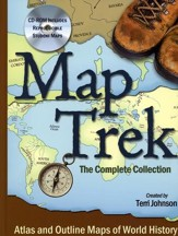 Map Trek--Book and CD-ROM