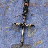 Small Nail Cross Pendant