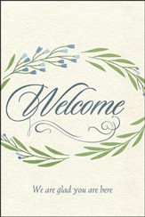 Welcome We Are Glad You Are Here - Welcome Folder (Pack of 12)