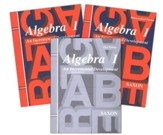 Saxon Algebra 1 Home Study Kit Third  Edition