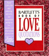 Bartlett's Book of Love Quotations - eBook