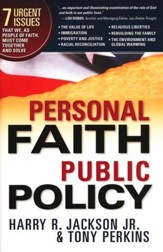 Personal Faith, Public Policy
