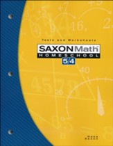 Saxon Math 5/4 Tests and Worksheets, 3rd Edition