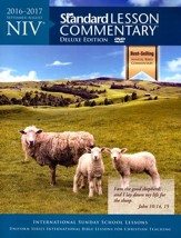 NIV Standard Lesson Commentary 2016-2017, Deluxe Edition softcover