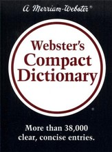 Webster's Compact Dictionary