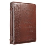 Amazing Grace Leather-Look Bible Cover, Medium