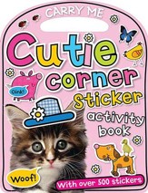 Fun On The Run Cutie Corner, Sticker Book