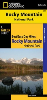 Best Easy Day Hiking Guide and Trail Map Bundle: Rocky Mountain National Park