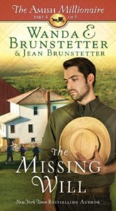 The Missing Will: The Amish Millionaire Part 4 - eBook