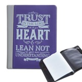 Trust in the Lord, Purple Photo Wallet