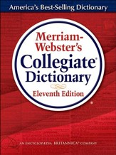 Merriam Webster's Collegiate  Dictionary, Laminated, 11th Edition