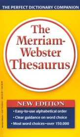 The Merriam-Webster Thesaurus (Mass Market Paperback)