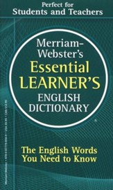 Merriam-Webster's Essential  Learner's English Dictionary