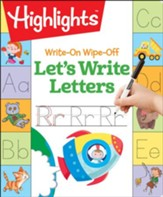 Let's Write Letters Write-On Wipe  Off