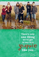 Duck Dynasty, Family Yuppie Birthday Cards, Pack of 6