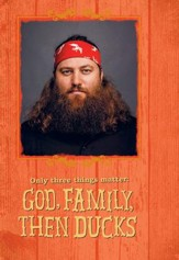Duck Dynasty, Willie, Three Things Matter Birthday Cards, Pack of 6