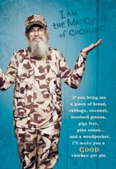 Duck Dynasty, Si Cooking Birthday Cards, Pack of 6