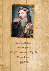 Duck Dynasty, Phil Praying for You Cards, Pack of 6
