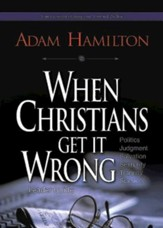 When Christians Get It Wrong, Leader Guide