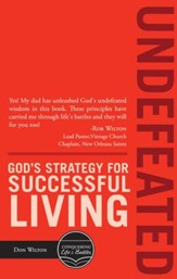 Undefeated: Gods Strategy For Successful Living - eBook