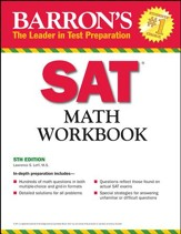 Barron's Math Workbook for the New  SAT, Fifth Edition