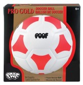 Pro Gold Soccer Ball Red and White