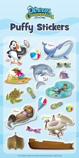 Ocean Commotion Puffy Stickers (1 Page)