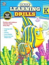 Daily Learning Drills, Grade K