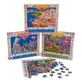 Jigsaw Puzzle Set: Pharaoh's Egypt, Parade of Animals, On Dry Ground