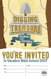Digging for Treasure VBS: Invitation Poster