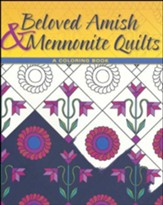 Beloved Amish and Mennonite Quilts: A Coloring Book - Slightly Imperfect