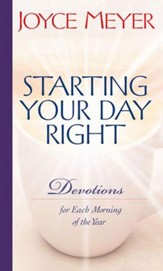 Starting Your Day Right: Devotions for Each Morning of the Year - eBook
