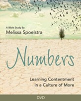 Numbers: Learning Contentment in a Culture of More - Women's Bible Study DVD