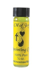 Anointing Oil, 1/4 ounce, Frankincense & Myrrh, 6 pack