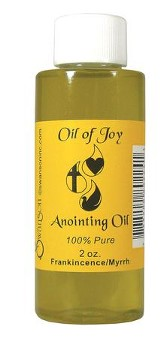 Anointing Oil, 2 ounce, Frankincense & Myrrh