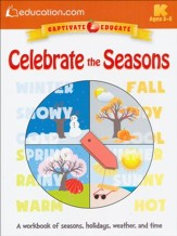 Celebrate the Seasons Workbook, Pre K-K