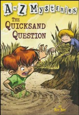 The Quicksand Question: A to Z Mysteries #17