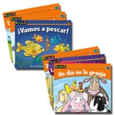 Rising Readers Fiction Set (Spanish Language Edition): Animal Adventures (set of 12 titles)
