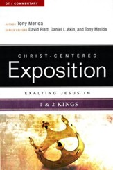 Exalting Jesus in 1 & 2 Kings - eBook