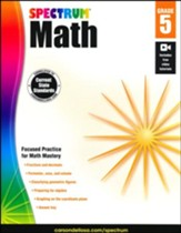 Spectrum Math Grade 5 (2014 Update)