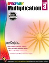 Spectrum Multiplication Grade 3