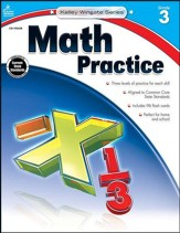 Kelley-Wingate Math Practice, Grade  3