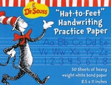 Dr. Seuss Hat-to-Feet Handwriting Practice Paper 50 Sheets