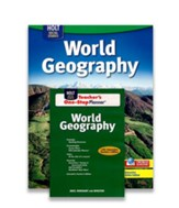 Holt McDougal World Geography Homeschool Package