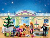 PLAYMOBIL ® Advent Calendar Christmas Room with Illuminating Tree Playset