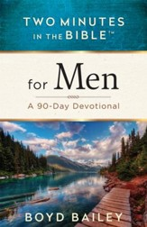 Two Minutes in the Bible for Men: A 90-Day Devotional - eBook