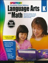Spectrum Language Arts and Math,  Grade K (2015 CCSS Edition)