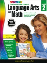 Spectrum Language Arts and Math, Grade 2 (2015 CCSS Edition)