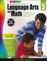 Spectrum Language Arts and Math, Grade 3 (2015 CCSS Edition)
